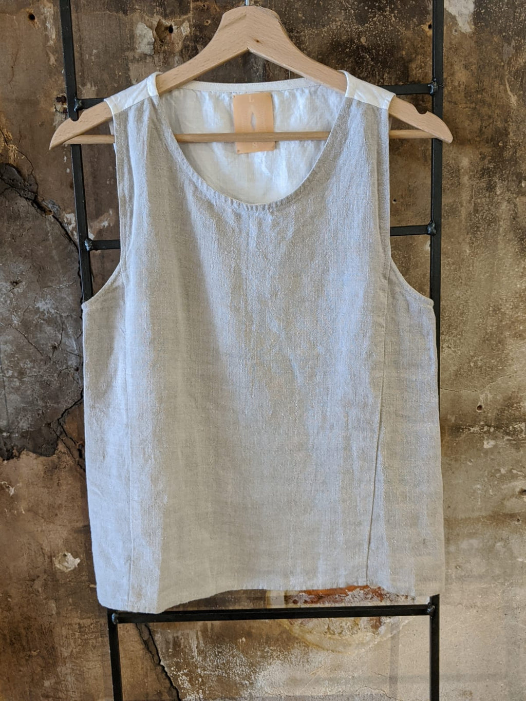 Double sided  sleeveless shirt