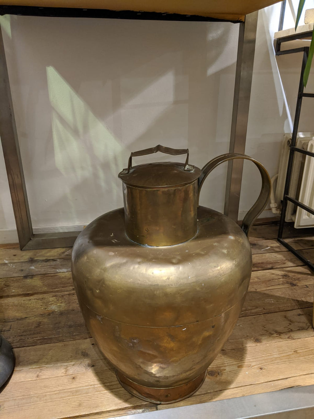 Dutch Brass Milk Jug