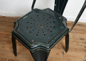 Green Fibrocit Garden Chair, Vintage, Vintage Finds - Six and Sons