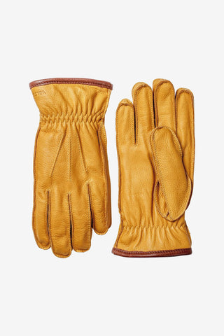 Glove Ornberg Natural Yellow, Clothing Men, Hestra - Six and Sons