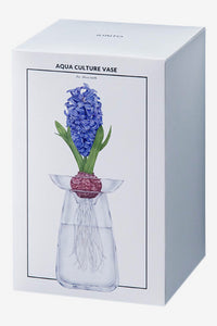 AQUA CULTURE VASE Small Clear, Interior, Kinto - Six and Sons