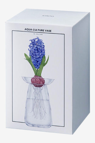 AQUA CULTURE VASE Large Clear, Interior, Kinto - Six and Sons