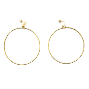 Gladiator Hoop Earrings