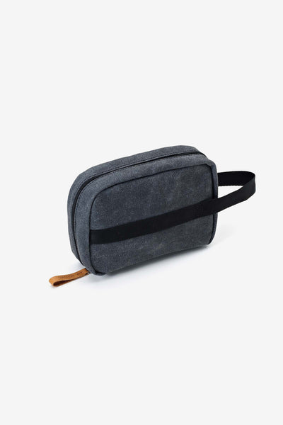 Toiletry Kit Washed Black, Bags, QWSTION - Six and Sons