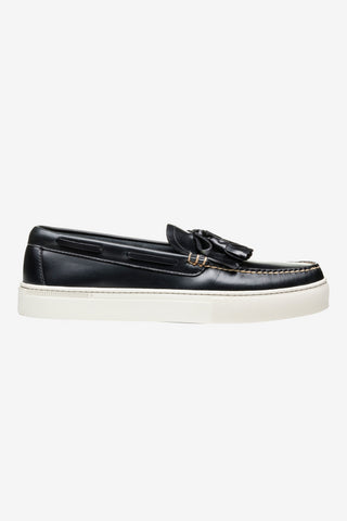 Weejun Cup Layton Pull Up Klt Navy, Shoes Men, G.H. Bass - Six and Sons