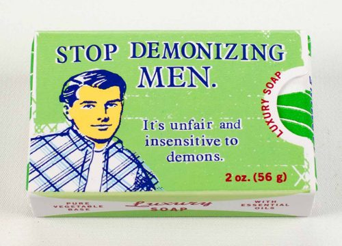 Stop Demonizing Men Soap