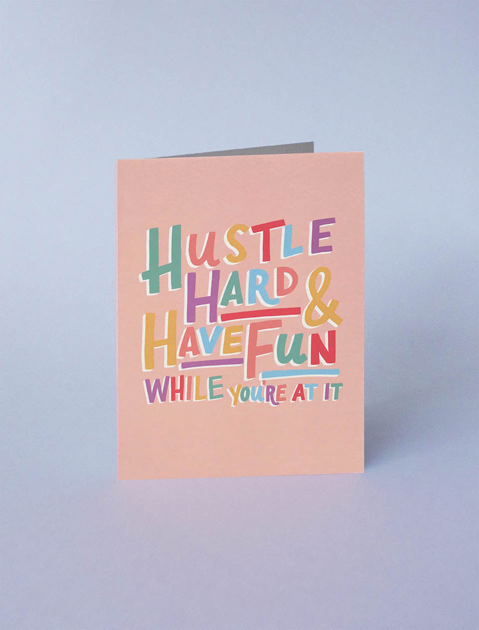 Jonesie gift card - Carte Hustle Hard