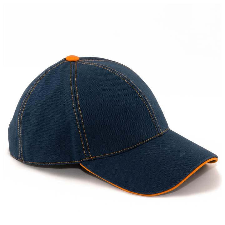 Orange Mékanik Baseball Cap