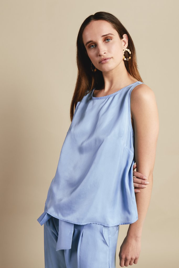 Earth Blue Top