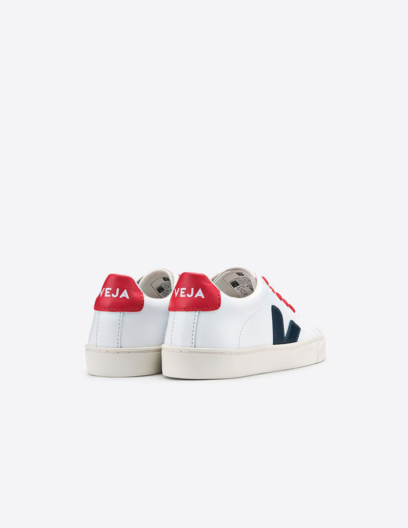 Veja Junior Esplar Small Lace Leather Extra White