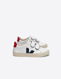 Veja Junior Esplar Small Velcro Leather Nautico Pekin