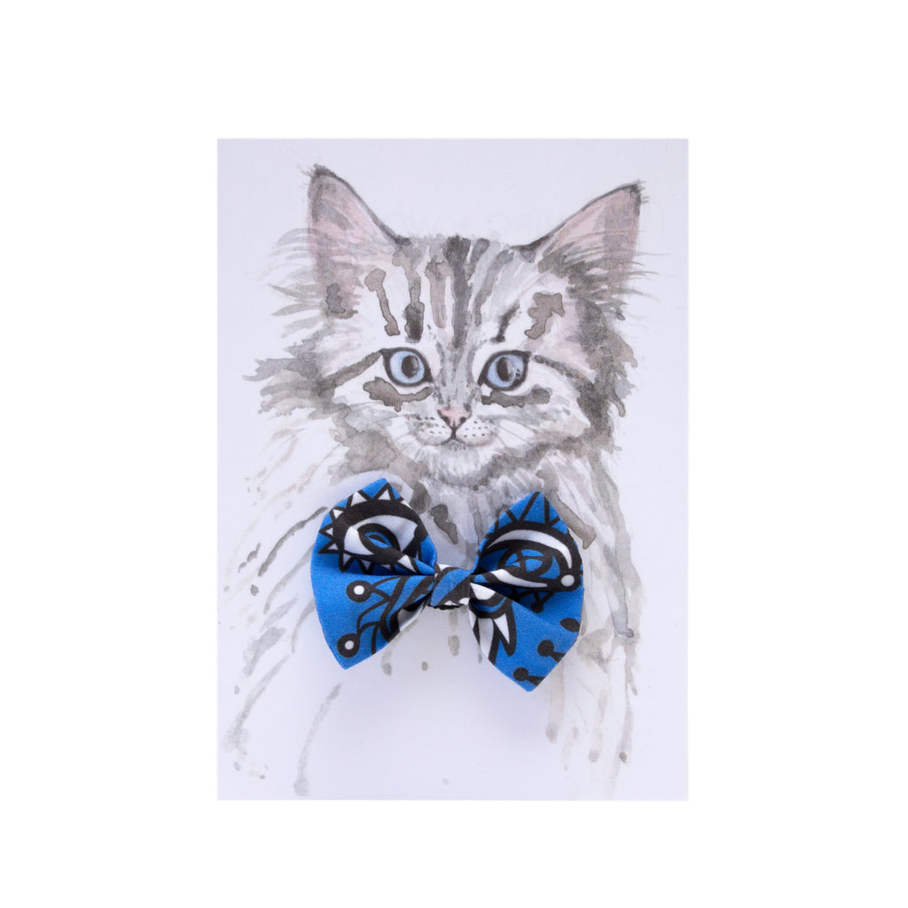 Eyes Cat Bow Tie