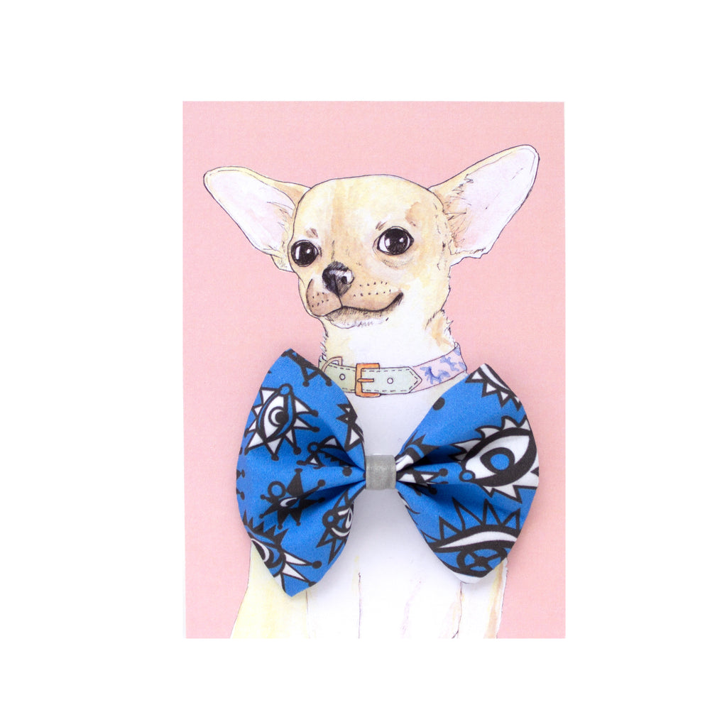 Eyes Dog Bow Tie