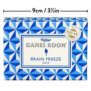 Brain Freeze Quiz