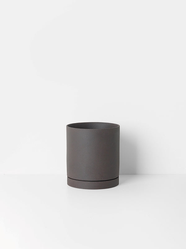 Sekki Pot - Charcoal - Large, Interior, Ferm Living - Six and Sons