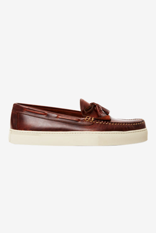 Weejun Cup Layton Pull Up Klt Brown, Shoes Men, G.H. Bass - Six and Sons