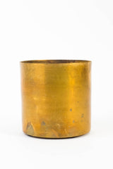 H. Skjalm P. Raw Brass Flower Pot, Decoration, H. Skjalm P. - Six and Sons