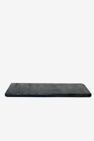 H. Skjalm P. Marble Platter 15 x 40 cm Marin Black, Decoration, H. Skjalm P. - Six and Sons