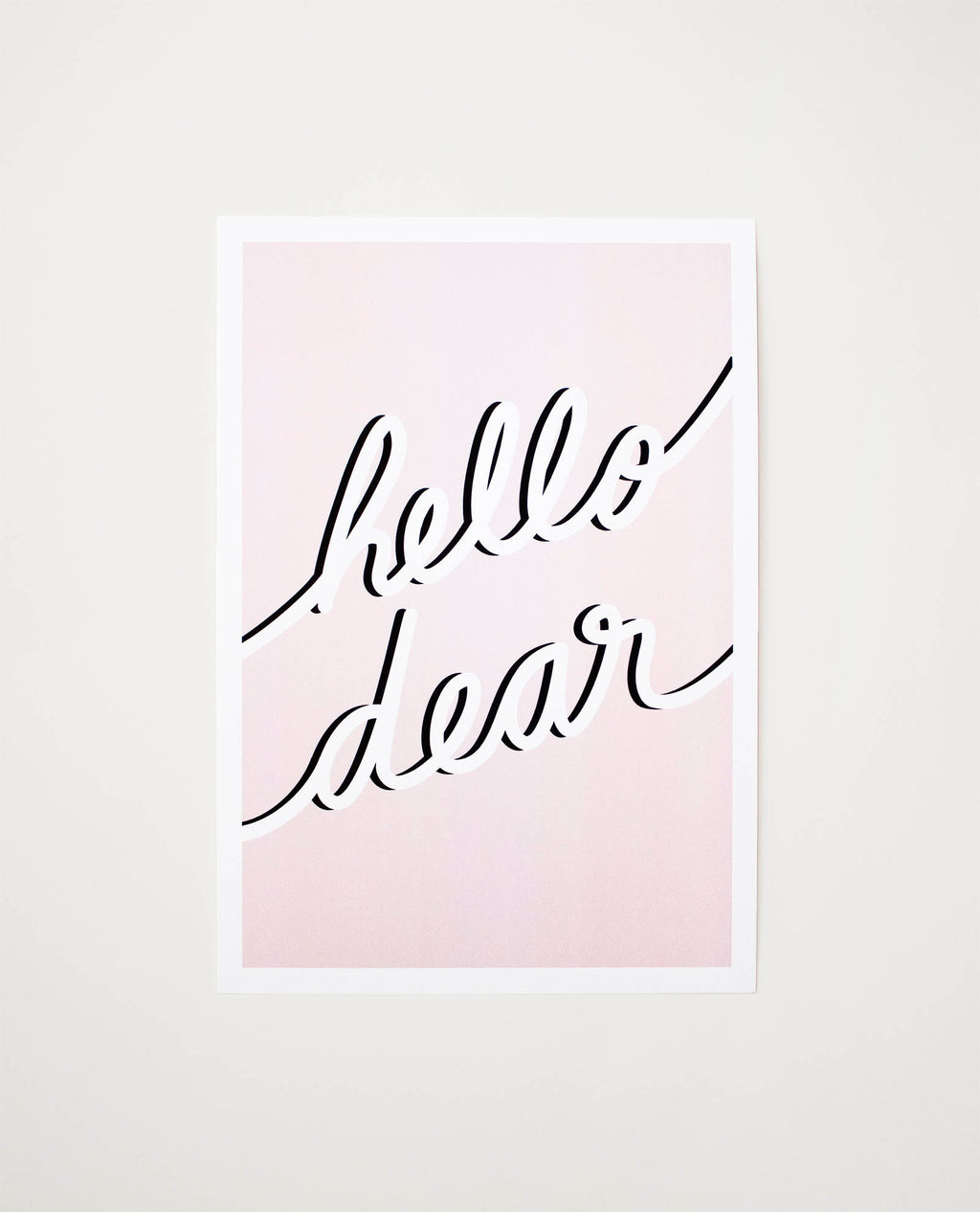 Jonesie gift card - Hello Dear