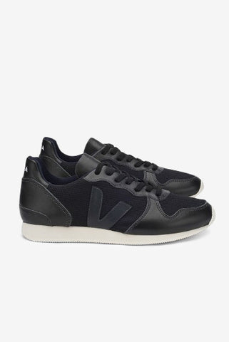Holiday Low Top B Mesh Black Black Black, Shoes Men, Veja - Six and Sons