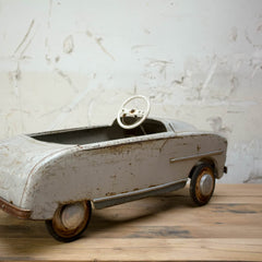 Vintage Metal Pedal Car, Vintage, Vintage Finds - Six and Sons