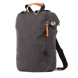 Qwstion Daypack washed Black, Bags, Undscvrd - Six and Sons
