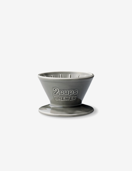 brewer 2cups gray
