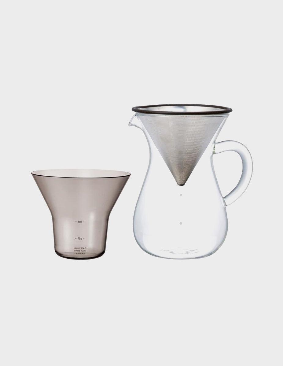 Coffee Carafe set 600ml stainless steel