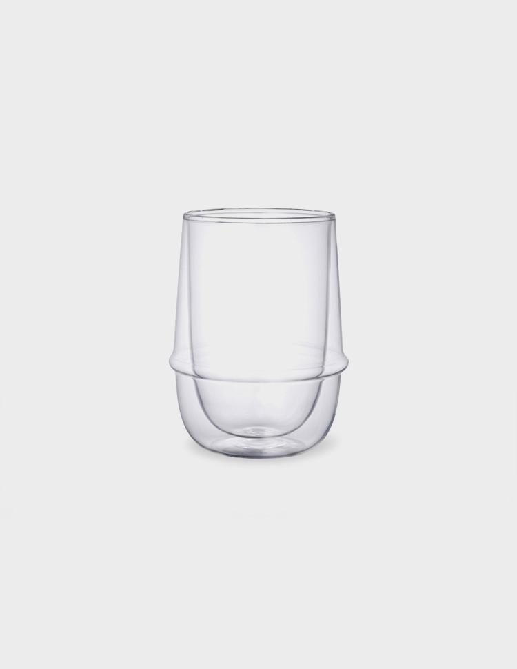 KRONOS double wall iced tea glass, Tableware, Kinto - Six and Sons