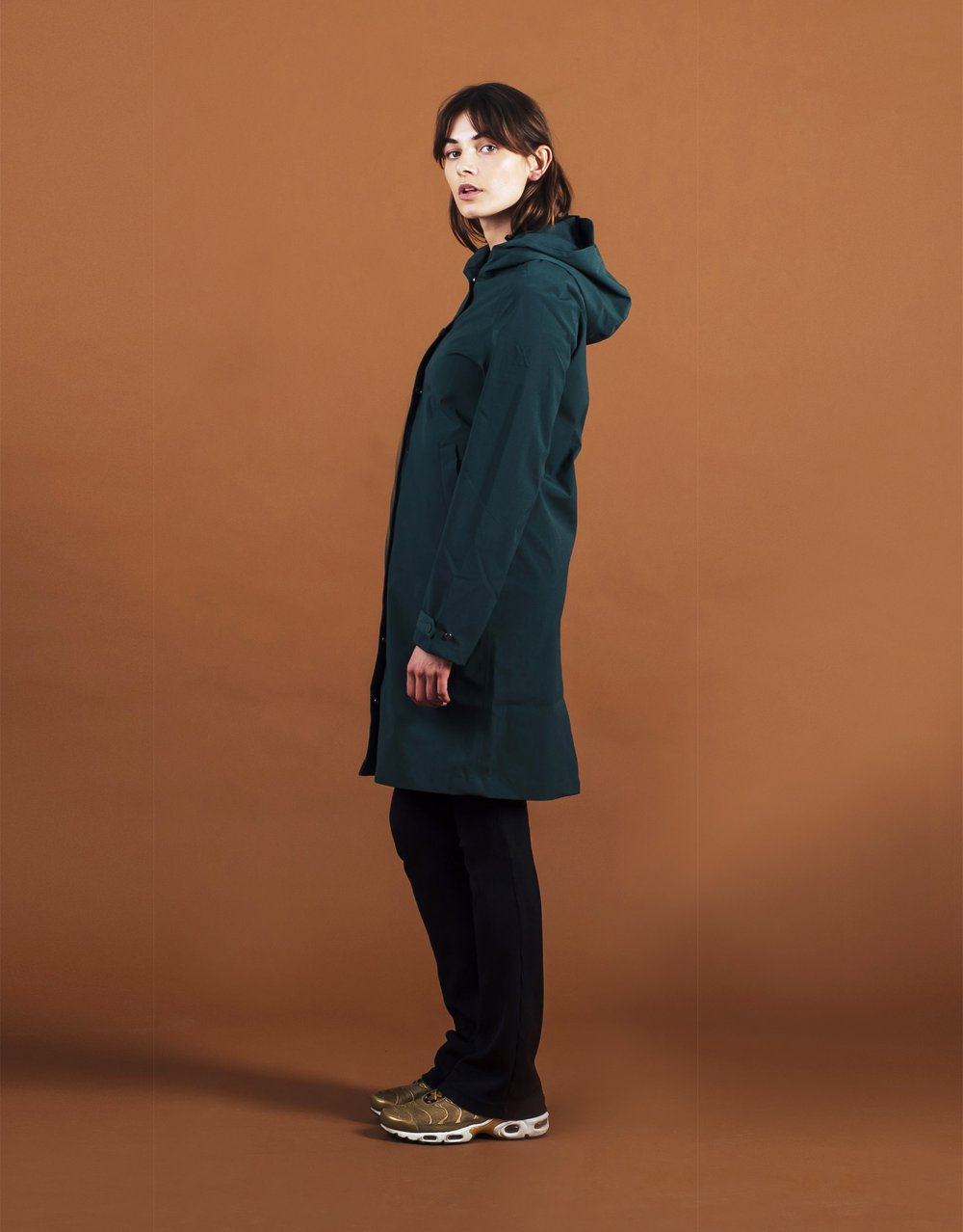 Lizard Blizzard Green Parka