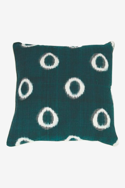 Mr. Peacock Green 60 x 60 cm, Textiles, The Pillow Room - Six and Sons