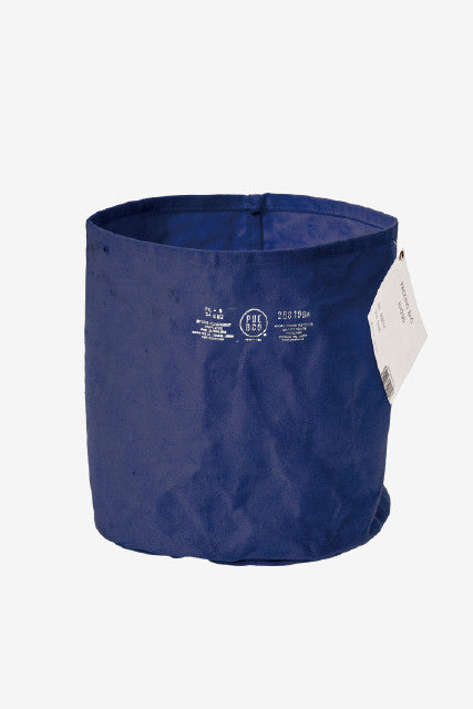 PUEBCO Canvas Pot Cover Navy Large, Interior, Puebco - Six and Sons