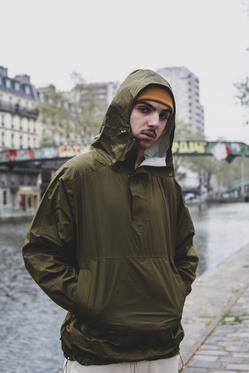 Zac Technical Oversized Parka