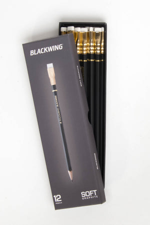 Palomino Blackwing Pencil Box of 12 Black, Office, Palamino - Six and Sons