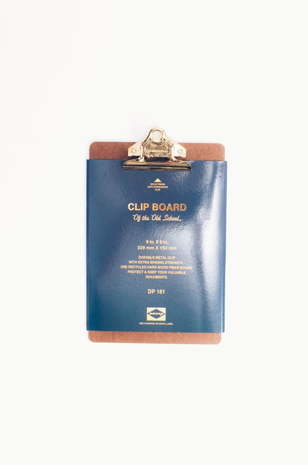 Clipboard A5 Gold, Office, Penco - Six and Sons