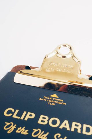 Clipboard Check Gold, Office, Penco - Six and Sons