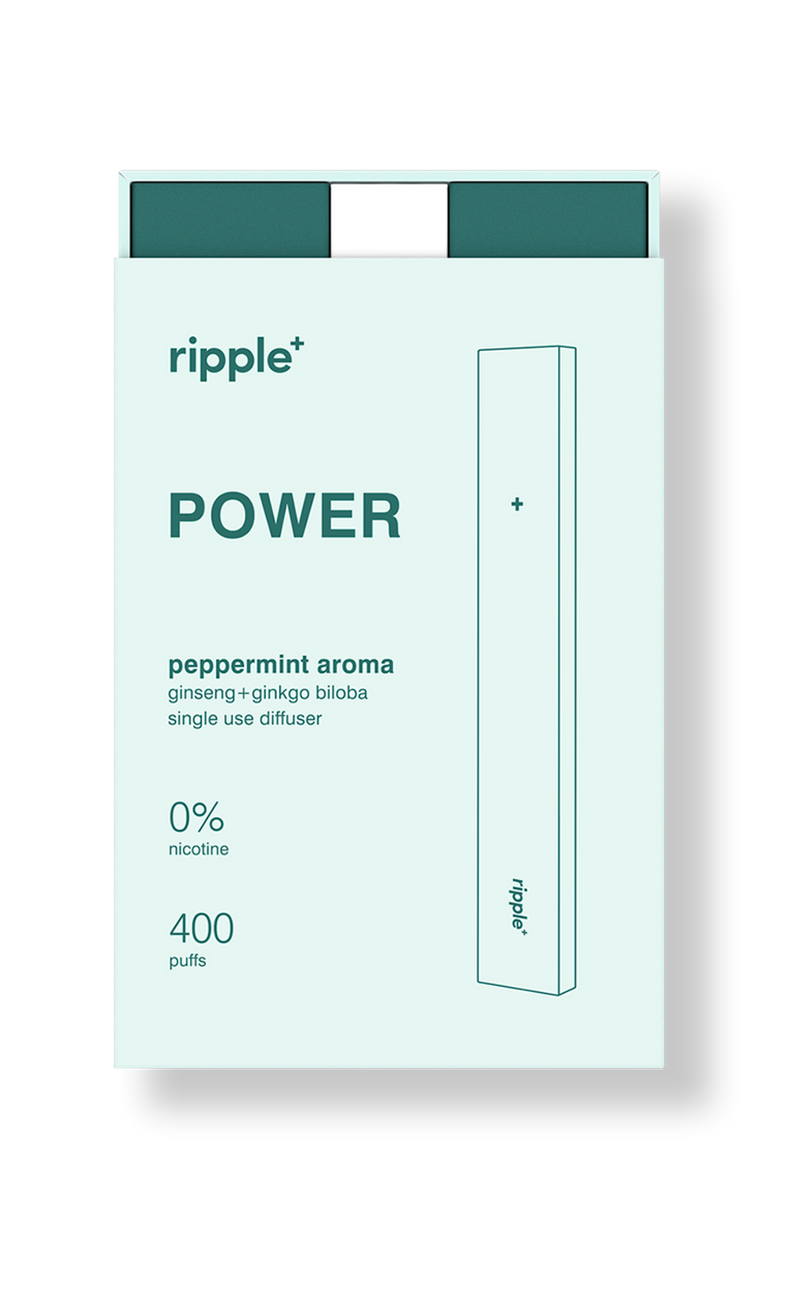 Ripple + plant-powered puffs