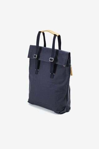 Day Tote Organic Navy, Bags, QWSTION - Six and Sons