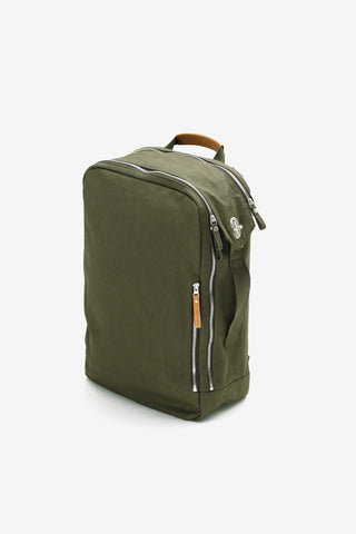 Backpack Organic Forest Green, Bags, QWSTION - Six and Sons