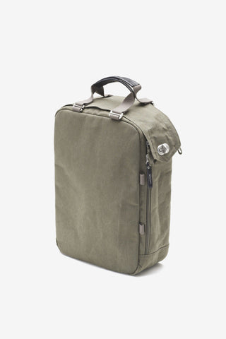 Daypack Organic Olive Qwstion, Bags, QWSTION - Six and Sons