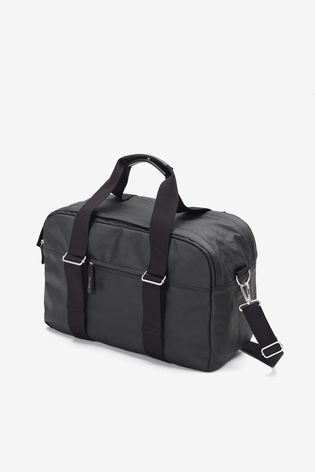 Weekender Organic Jet Black, Bags, QWSTION - Six and Sons