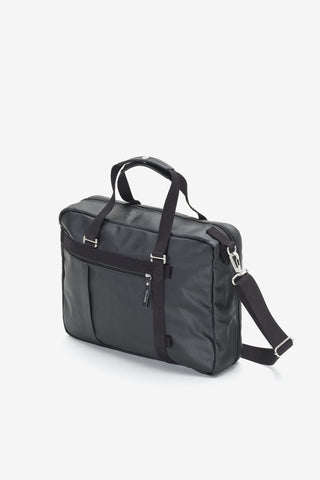 Office Tote Organic Jet Black, Bags, QWSTION - Six and Sons