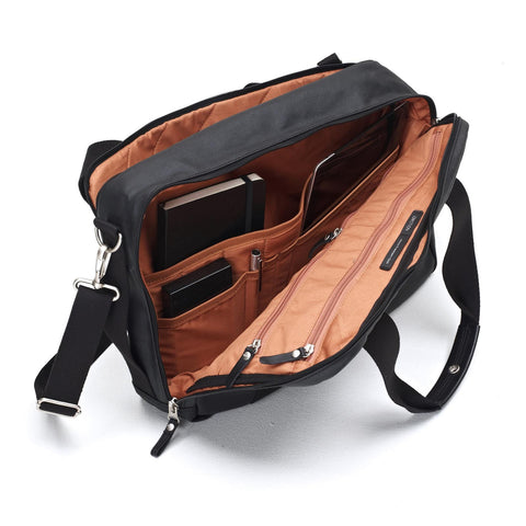 Office Bag Organic Jet Black, Bags, QWSTION - Six and Sons