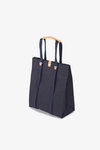 Shopper Organic Navy, Bags, QWSTION - Six and Sons