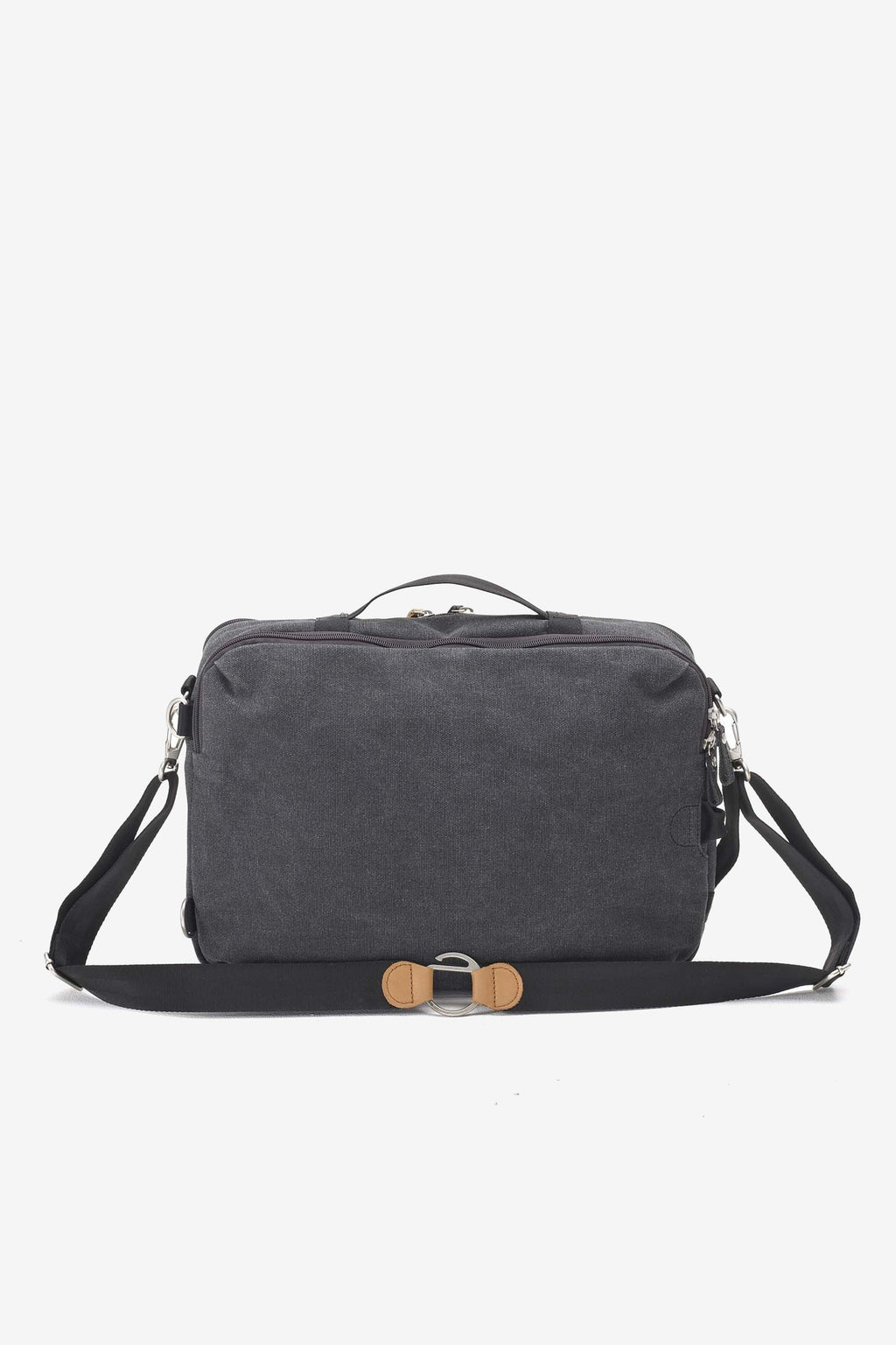 Simple Office Bag Washed Black, Bags, QWSTION - Six and Sons