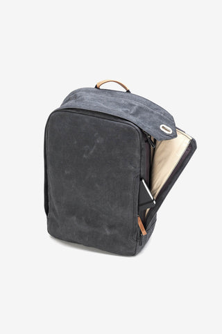 Backpack Washed Black, Bags, QWSTION - Six and Sons