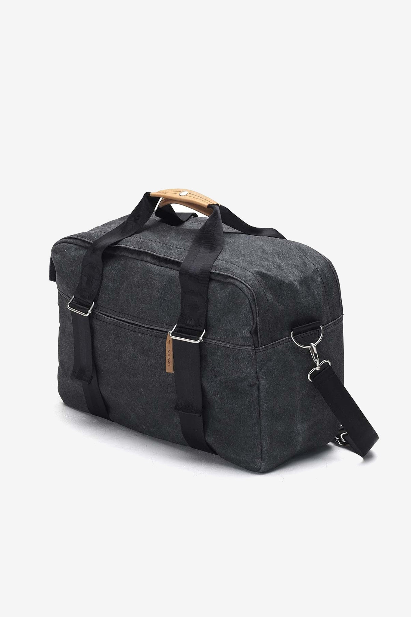 Weekender Washed Black, Bags, QWSTION - Six and Sons