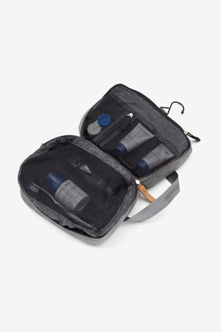 Toiletry Kit Washed Grey, Bags, QWSTION - Six and Sons