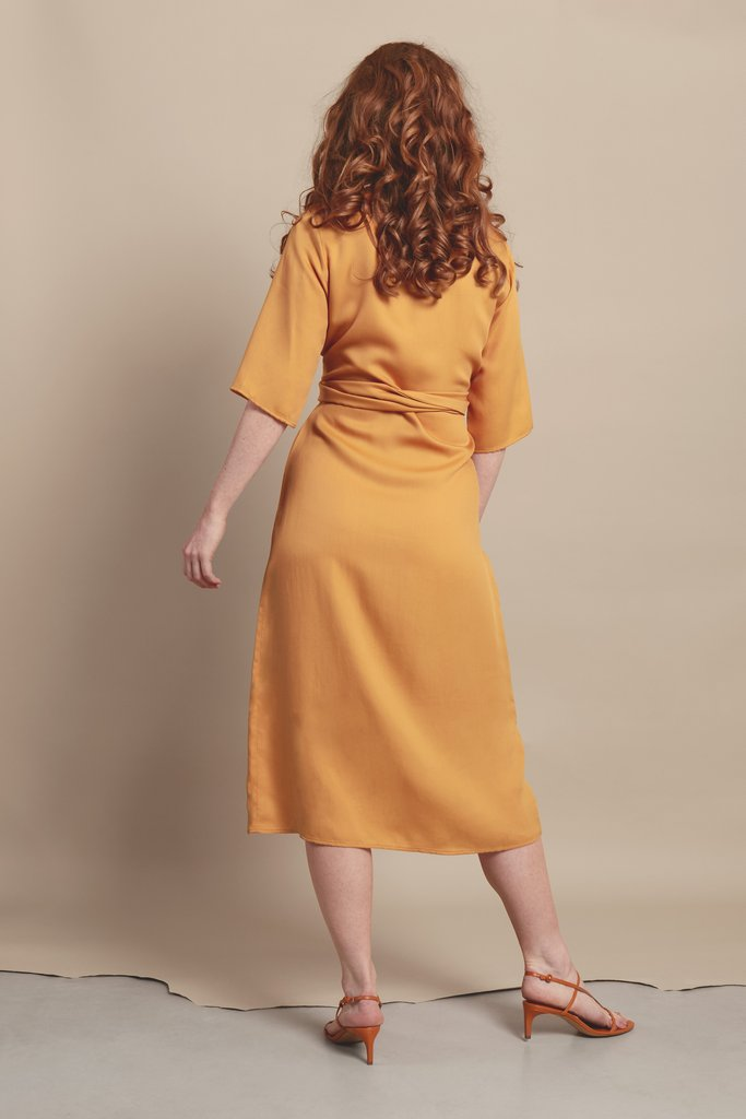 Relate Orange Dress