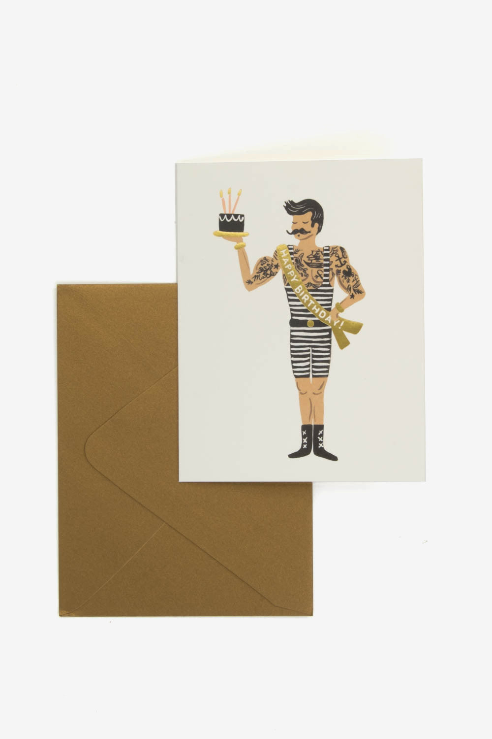 Strongman Birthday card, Office, Rifle Paper Co. - Six and Sons